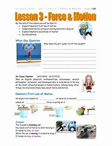27 Forces And Motion Worksheet