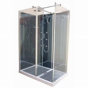 Cabine De Douche Hydromassante : cabine de douche hydromassante rectangulaire tahl 90x140 ~ Dailycaller-alerts.com Idées de Décoration