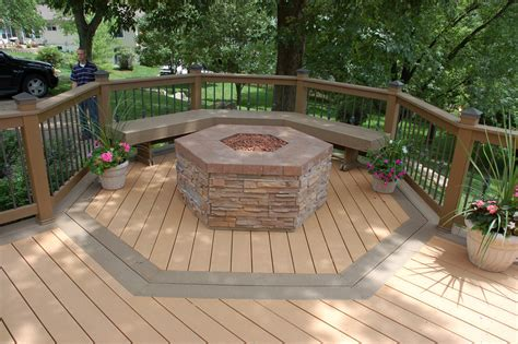 Fire Pits Wooden Decks, Fire Pit Ideas Fire Pits Wooden