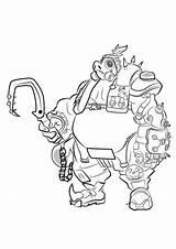 Overwatch Coloring Draw Roadhog Road Hog Drawing Step Hanzo Genji Reaper Drawingtutorials101 Va Drawings Tracer Kleurplaten Learn Cool Tutorial Sketch sketch template