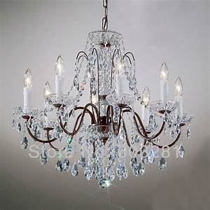 Classic traditional chandelier atn light pellucid