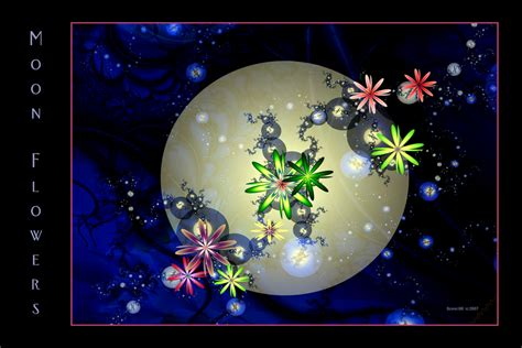 moon flowers by desmo100 on deviantart
