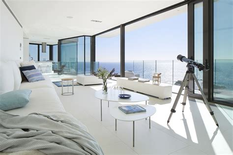 modern hillside coastal home  spain  magnificent
