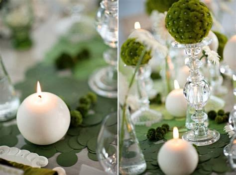 un mariage vert et blanc tr 232 s frais et plein de peps j