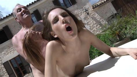 Old Man Hard Fucks A Teen Bitch Until Deep Orgasm Mature