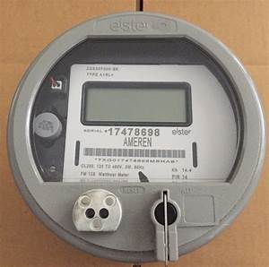 Elster  Watthour Meter  Kwh  A1rl   Fm12s  200a  5 Lug