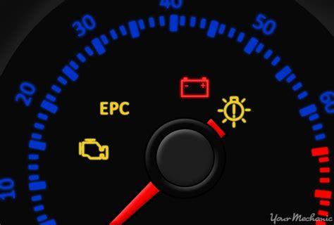 electronic power control epc warning light