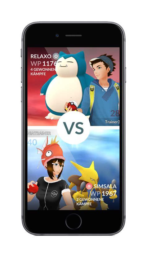 arenen update und raid kaempfe  pokemon  angekuendigt