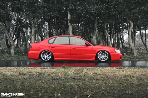 2000 subaru legacy stance from japan with fitment subaru legacy b4 blitzen