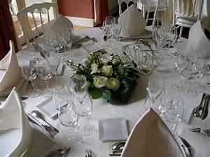 Decoration De Table De Mariage : fleurs mariage d coration de table vatry fleuriste com ~ Melissatoandfro.com Idées de Décoration