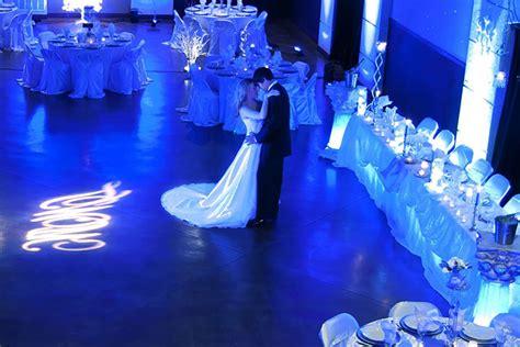 royal blue wedding decorations    regal