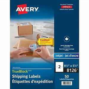 avery 8126 shipping labels with trueblock technology the With avery 8126