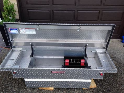tool weather guard box weatherguard boxes low security aluminum weatherproofing rust shedheads