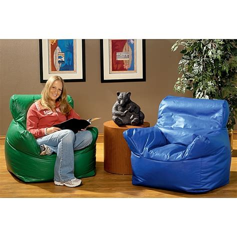 demco bean bag armchairs library furniture