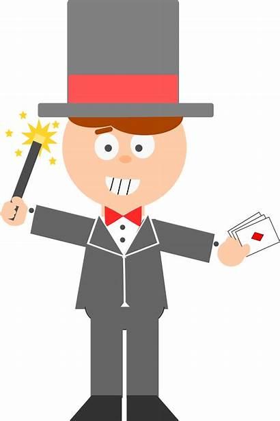 Magician Cartoon Clipart Boy Cartoons Clip Svg