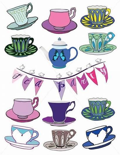 Tea Cup Saucer Clipart Cups Clip Party