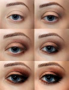 Smokey Eyes Blaue Augen : top 10 fall brown smoky eye tutorials top inspired ~ Frokenaadalensverden.com Haus und Dekorationen