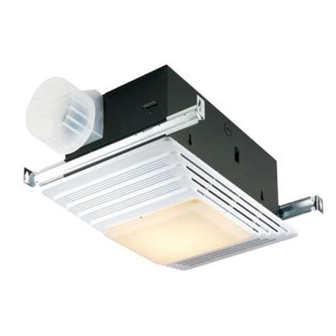 home depot vent fan broan 100 cfm ceiling exhaust fan with light