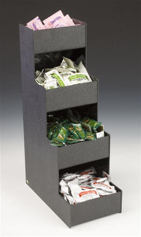 compartmentalized countertop bin organizer  compartments