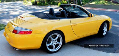 porsche  carrera convertible  door