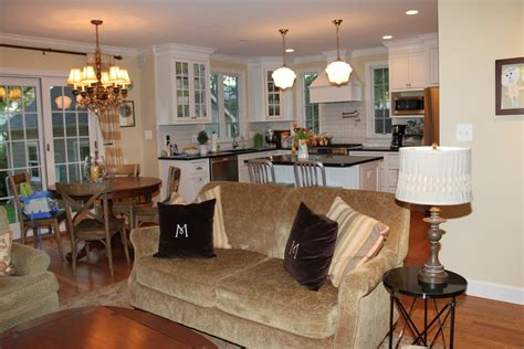 Open Floor Plan For Small Kitchen And Living Room by Houseography Open Floor Plan Connectivity And Some New