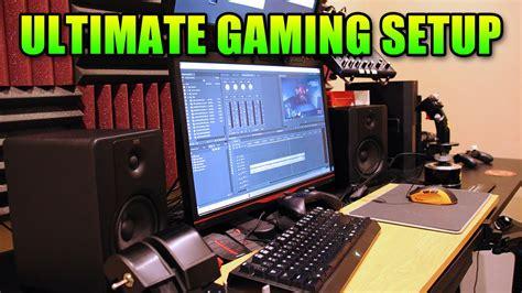 pc gaming setup  levelcaps  office youtube
