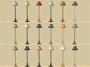 mod the sims socialite collection recolours With sims 2 floor lamp