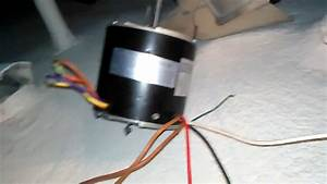5 Wire Condenser Fan Motor To A 3 Wire