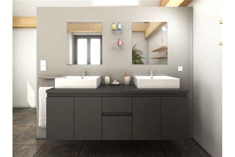 meuble de salle de bain design double vasque achat vente