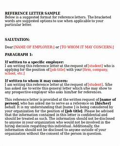 Sample Letter Of Recommendation For A Friend For Immigration 29 Reference Letter Format Samples Sample Templates