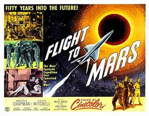 Flight To Mars, 1951 by Everett