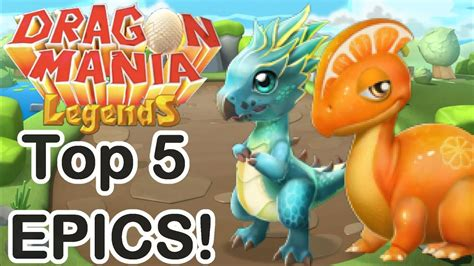 Top 5 Easiest EPIC Dragons to Breed for NEW PLAYERS