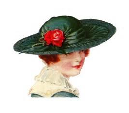 Vintage Ladies Hats Clip Art