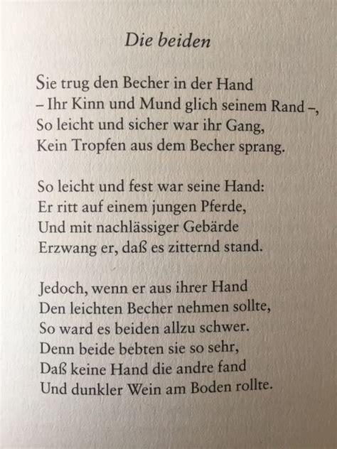deutsche lyrik von damals und heute lyrik liebesgedicht