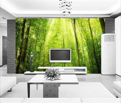 design dinding hijau warna  cocok  wallpaper