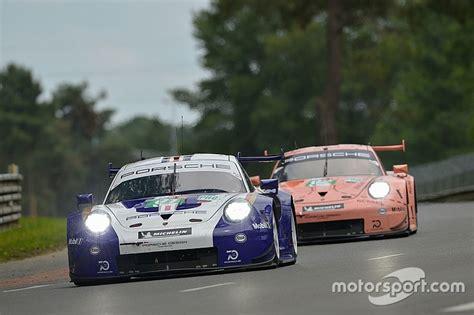Porsche Aura De Nouveau 4 Voitures Pour Les 24 Heures Du