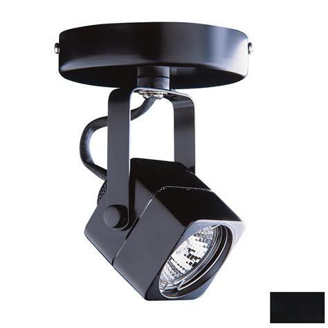 flush mount track lighting shop kendal lighting black flush mount fixed track light