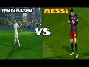 Dream League Soccer 2016 MESSI VS CRISTIANO RONALDO HD