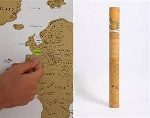 Carte Du Monde à Gratter Maison Du Monde : la carte du monde gratter id e cadeau cool ~ Teatrodelosmanantiales.com Idées de Décoration