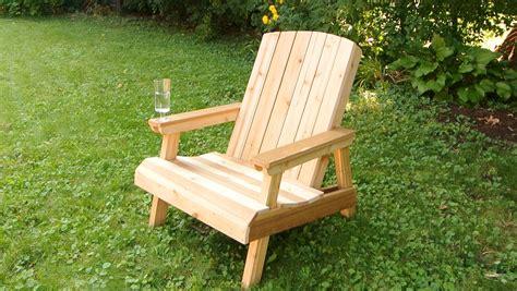 wanna build  adirondack chair   patio