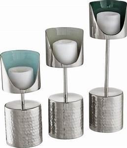 Kerzenständer 3er Set : home affaire kerzenst nder 3er set online kaufen otto ~ Watch28wear.com Haus und Dekorationen