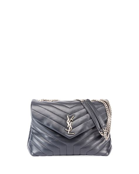 saint laurent loulou monogram ysl medium chain shoulder bag neiman marcus