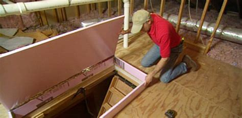 How to Insulate Attic Drop Down Access Stairs   Today's