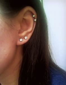 double cartilage piercing on Tumblr