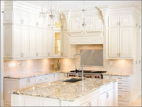 off white kitchen cabinets off white kitchen cabinets with granite countertops