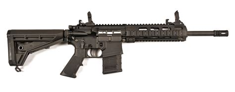 Test Haenel Cr223 Semiautomatic Competition Rifle