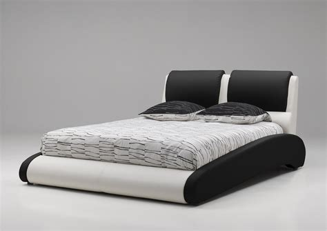 chambre adulte noir et blanc lit adulte design en pu noir et blanc brita lit adulte