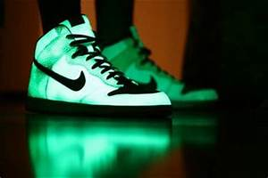 Glow Nike and Shoes on Pinterest