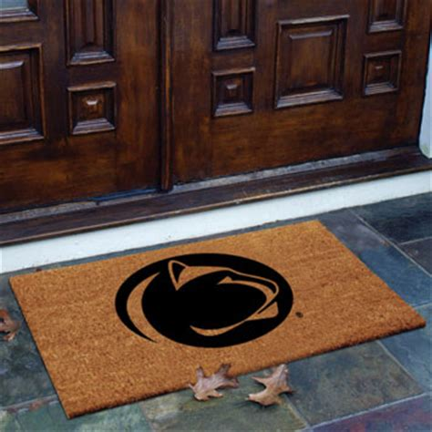 Penn State Doormat by Penn State Nittany Lions Ncaa College Rectangular Outdoor