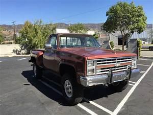 Super Rare Low Mile 86 Chevy K20 4x4 Stepside Long Bed